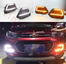 For Chevrolet TRAX 2017 2018 2x LED Daytime Day Fog Lights DRL Run lamp New