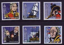 Alderney 2005.Bicentenary of the Battle of Trafalgar  SG 253/58  MNH