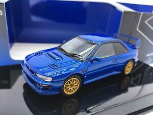 1:43 AUTOART Subaru Impreza 22B 1/43 Blue paper packege is lost