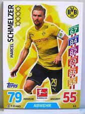 Match Attax 2017/18 Bundesliga - #061 Marcel Schmelzer - Borussia Dortmund