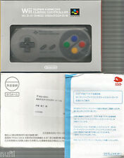 JAPAN Club Nintendo Wii Super Famicom Classic Remote Controller ONLY