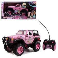 JADA 1:16 R/C RC RADIO CONTROL CAR GIRLMAZING JEEP WRANGLER 96991 PINK INSTOCK