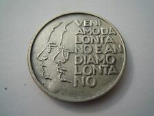 Medaglia Moneta 50° Anniversario Fondazione Partito Comunista PCI ARGENTO (VP)
