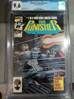 1986 Punisher Limited Series #1 CGC 9.6 Universal Grade Comic Jigsaw Appearance