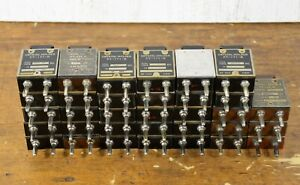 US Army Signal Corps BC-610 Transmitter FT-171-B Crystal Holders ~ VARIOUS MHz