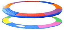 10FT Replacement Trampoline Surround Pad, Rainbow Colour
