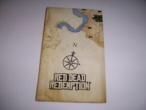 Red Dead Redemption double-sided MAP and POSTER