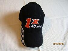 1X Racing Jaaaks Hat Cap black loop tape back. Magic headwear brand. Q8