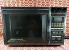 1985 Vintage Chrome Amana Radarange Touchmatic  Microwave Oven  photo