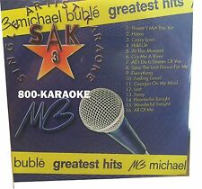 Quik Hitz Karaoke CD+G Single Artist v.3 Quick Hits Michael Buble 16 Song cdg