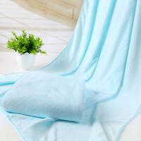 Microfiber Bath Beach Absorbent Towel Drying Washcloth Shower Body Swimwear Wrap
