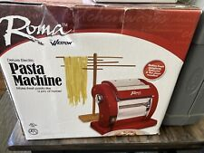 Weston Roma Express Deluxe Electric Pasta Maker - Used, Excellent Condition