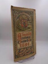 Almanach national Jeanne d'Arc 1891