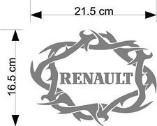 Renault palabra tribal taxi del carro cuerpo o etiqueta de la ventana