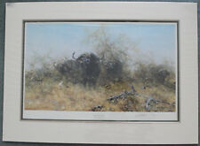 "DAVID SHEPHERD. ""EGRETS AND FRIENDS"" SIGNED LIMITED EDITION PRINT"