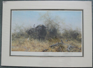 """DAVID SHEPHERD. """"EGRETS AND FRIENDS"""" SIGNED LIMITED EDITION PRINT"""