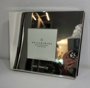 Pottery Barn Great Memories Our Family Photo Album Silver Plated 30 pg