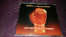 K.O.'s feat Michael Buffer / Lets get ready to Rumble - Maxi CD 1996