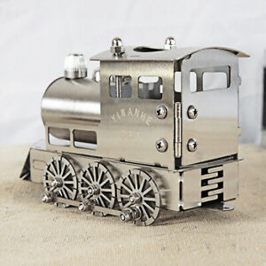 Smg Train Stainless Steel Metal Train Model Exquisite Assembly Decoration Gift