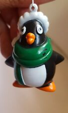 """2"""" Penguin Ornament 2001 Topps Christmas Xmas tree holiday decoration pre-owned"""
