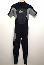 Quiksilver Mens Full Wetsuit Short Sleeve Syncro 2/2 Size Small S