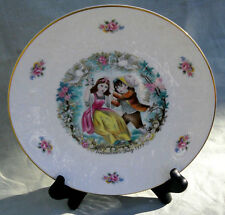 Royal Doulton Valentines Day 1979 Plate children doves dish painted collectible