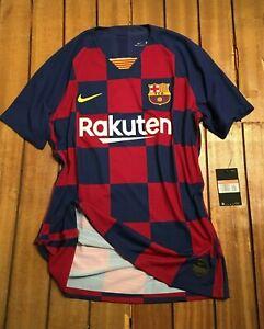Barcelona 2019/20 player issue home shirt - match un worn vaporknit - large