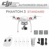DJI Phantom 3 Standard Quadcopter Drone 2.7k Camera 3-Axis Gimbal *Refurbished*
