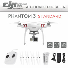 DJI Phantom 3 Standard Quadcopter Drone 2.7k Camera 3-Axis Gimbal *Refurbished*