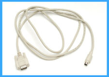 """6' 6"""" DB9 Male to 8 Pin Male Mini DIN Cable  9 PIN DB Male to 8 PIN DIN WACOM"""