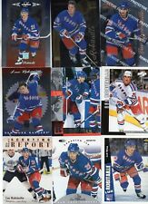 9-luc robitaille all new york rangers card lot nice mix