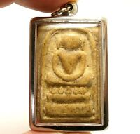 THAI MAGIC BUDDHA BLESS AMULET PENDANT SOMDEJ KAISER OF ARUN TEMPLE RICH SUCCESS