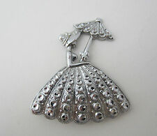 Vintage Costume Jewellery Charles Horner Southern Belle Brooch Staybrite 1940s