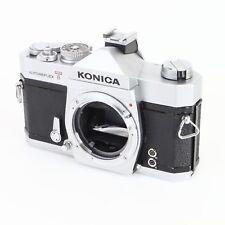 :Konica Autoreflex T 35mm Film SLR Camera Body - For Parts or Repair