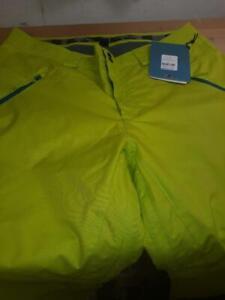 Oakley Shelf Life snow pants Mens 2XL Lightning Green Color