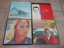 Roger Williams reel-to-reel lot: Play Me, Golden Hits, Always, Summer of '42