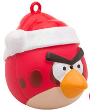 GRANDKID GIRL BOY GAME ANGRY BIRD RED BIRD CARDINAL 3D CHRISTMAS TREE ORNAMENT