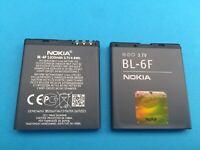 BATERIA GENUINA NOKIA BL-6F BL6F OEM 1200mAh 4,4Wh 3,7V NOKIA N78 N79 N95 8GB