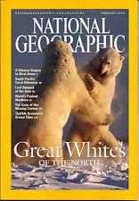 NATIONAL GEOGRAPHIC Magazine - February 2004 polar bears