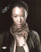 New Art Print of Autographed Photo 8 X 10 Sonequa Martin-Green Walking Dead