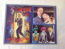 RARE VINTAGE HORROR MEXICAN MOVIE POSTER 1990 Al Filo Del Terror Fernando Almada