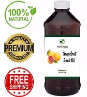 Grapefruit Seed Oil - Cold Pressed 100% Pure & Natural Carrier Extract Liquid