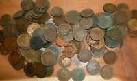 (20) Indian Head Penny  Lot -1800s to 1900s- 20 Coins- Low Grade Cull