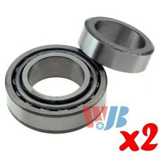Pair of 2 Rear Wheel Tapered Roller Bearing Lock Collar WJB WTA9 A-9 SET9 BR9