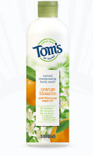 Tom's Natural Moisturizing Body Wash Orange Blossom with Moroccan Argan Oil 12 f