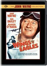 THE WINGS OF EAGLES John Wayne classic. Region free. New & sealed DVD.