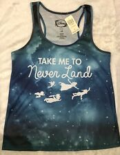 Hot Topic Disney Peter Pan Neverland Racerback Tank Women's Large BNWT