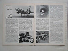 6/1974 ARTICLE 2 PAGES AIR NEW ZEALAND AIRLINES AIRWAYS AIR TRANSPORT PACIFIC