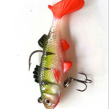 LS Durable Fishing Lures Sea Soft Bait Lead Artificial Baits Jig Silicon Lures