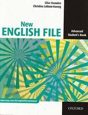 Oxford NEW ENGLISH FILE Advanced Level Student's book / Coursebook @BRAND NEW@